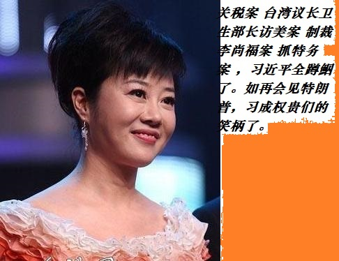 u=3799738220,208410关税案 台湾议长卫生部长访美案 制裁李尚福案 抓特务案 ,wqs王岐山习近平全蹲鮂了。如再会见特朗普,习成权贵们的笑柄了。3855&fm=26&gp=0.jpg